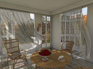 Blophome Balkon, Beranda & Teras Gaya Mediteran