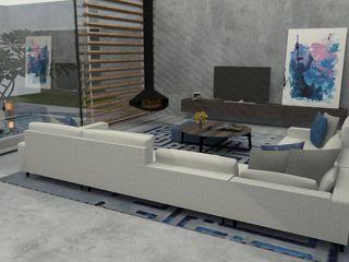 Abra as portas de sua casa ao estilo moderno! Casactiva Interiores Salas de estar modernas