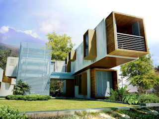 Arkontainers Passive house