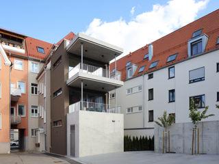 Mehrfamilienhaus KMF Architekturbüro zwo P Mehrfamilienhaus Mehrfarbig