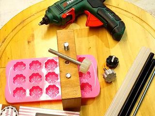 Jig per manopole di serraggio Magic Wood Maker Cantina moderna Plastica Nero