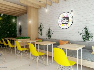 PROYECTO JUGUERIA FRUTI BOX NF Diseño de Interiores Espacios comerciales