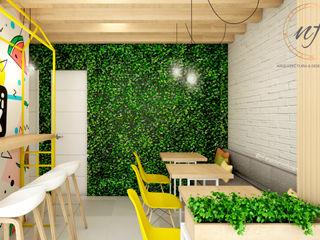 PROYECTO JUGUERIA FRUTI BOX NF Diseño de Interiores Restaurantes