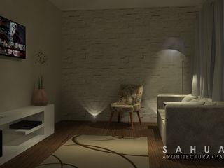 SAHUARO Arquitectura + Paisajismo Salas de estar minimalistas