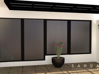 SAHUARO Arquitectura + Paisajismo Varandas, alpendres e terraços modernos
