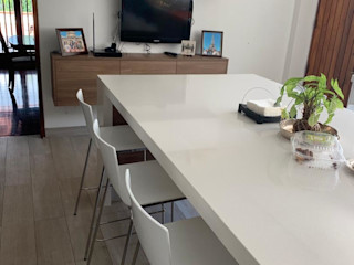 THE muebles KitchenTables & chairs Metal White