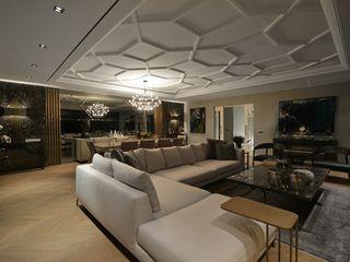 Lantana Parke Living room Wood Wood effect