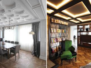 Lantana Parke Modern Living Room Wood Wood effect
