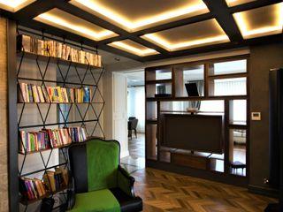 Lantana Parke Modern Study Room and Home Office Wood Wood effect