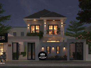 Mẫu thiết kế biệt thự 2 tầng mái ngói đẹp tại tphcm NEOHouse