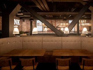 Studio Frey Gastronomia in stile rustico
