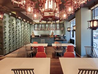 Studio Frey Gastronomia in stile asiatico