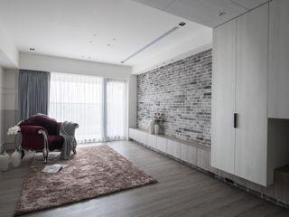 肯星室內設計 Landelijke woonkamers