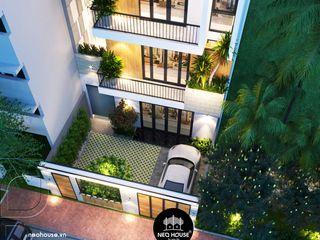 Thiết kế cải tạo nhà phố hiện đại 3 tầng tại Tân Phú NEOHouse