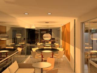 Elaine Hormann Architecture Balconies, verandas & terraces Furniture Ceramic Beige