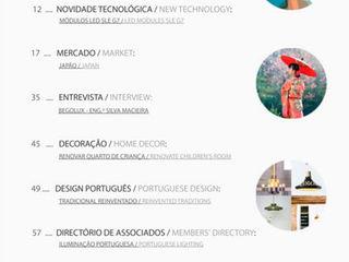 PORTUGUESE LIGHTING NETWORK MAGAZINE – Issue 11 LUZZA by AIPI - Portuguese Lighting Association CasaAcessórios e Decoração