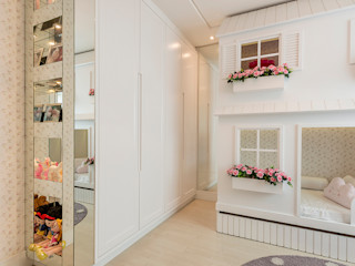 Espaço do Traço arquitetura Girls Bedroom