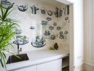 José den Hartog Small kitchens Tiles Blue