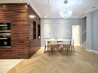 Piotr Stolarek Projektowanie Wnętrz Eclectic style dining room