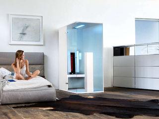 Infrarotkabine oder Sauna? SPA Deluxe GmbH - Whirlpools in Senden Minimalistische Schlafzimmer