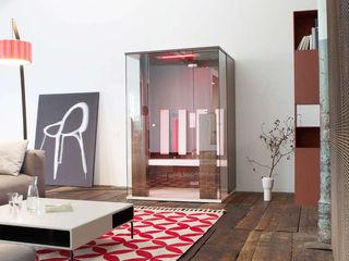 Infrarotkabine oder Sauna? SPA Deluxe GmbH - Whirlpools in Senden Minimalistische Wohnzimmer