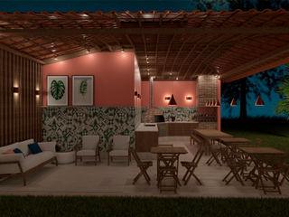 Elaine Hormann Architecture Mediterranean style wine cellar