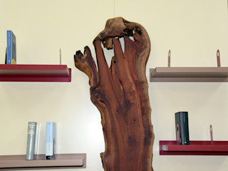 Gli Artigiani dei f.lli M.& S. Cordi snc Living roomTV stands & cabinets Wood Wood effect