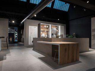 HD Surface BETON2 Moderne Geschäftsräume & Stores Beton Grau