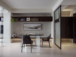 BLC Ruang Makan Modern Beton Grey