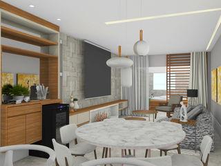 Espaço AU Living roomAccessories & decoration