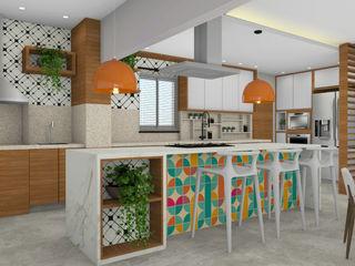 Espaço AU KitchenCabinets & shelves