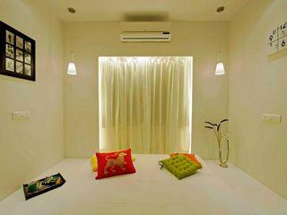Olive Interiors 小臥室 磚塊 Yellow