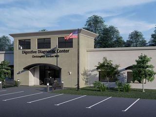 Structural and MEP Design - Ambulatory Surgery Center in Clayton, NC S3DA Design Clinics Concrete Beige