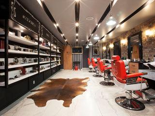 Boutique de Arquitectura ¨Querétaro [Sonotectura+Refaccionaria] Modern style study/office Granite Wood effect