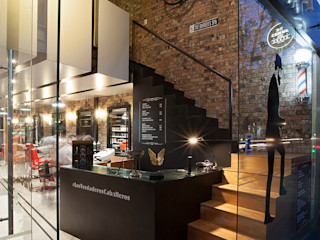Boutique de Arquitectura ¨Querétaro [Sonotectura+Refaccionaria] Modern style study/office Wood Wood effect