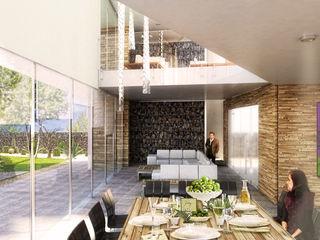 Boutique de Arquitectura ¨Querétaro [Sonotectura+Refaccionaria] Small houses Concrete White