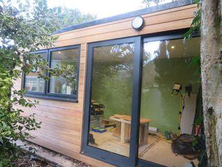 Garden Room kit – Guisborough Building With Frames Garages & sheds Wood
