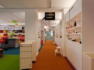 CREATION CENTER _WERKSTATT FÜR UNBESCHAFFBARES - Innenarchitektur aus Berlin Moderne Bürogebäude