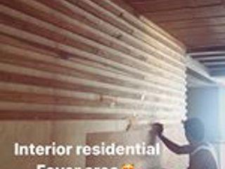Monoceros Interarch Solutions Corredor, vestíbulo e escadasAcessórios e decoração Madeira Castanho