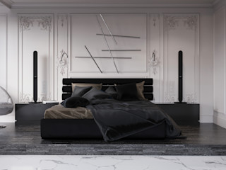 Vashantsev Nik Camera da letto in stile classico Bianco