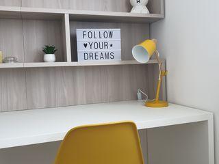 7 esempi di scrivania per la camera dei ragazzi Spaziojunior Stanza dei bambini moderna Bianco