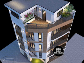 Mẫu thiết kế nhà ở kết hợp văn phòng kinh doanh tại Tp. Hồ Chí Minh NEOHouse