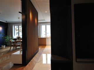 Piotr Stolarek Projektowanie Wnętrz Eclectic style living room