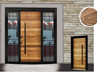 Çalık Konsept Mimarlık Puertas y ventanasPuertas Madera Acabado en madera