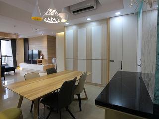 在城市,打造 優雅品味方程式 雅和室內設計 餐廳