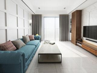 設計反轉格局 時尚簡約氣息 雅和室內設計 客廳