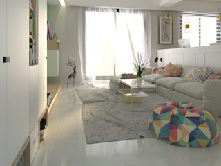簡約北歐 親子宅 傾瀉一抹慵懶 親子溫馨好時光 雅和室內設計 客廳