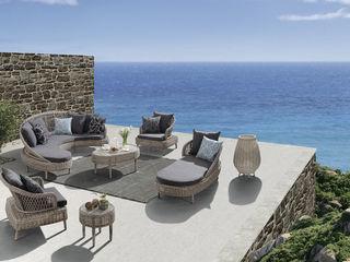 Bahcce Irmaklar Garden Furniture Grey