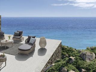 Bahcce Irmaklar Garden Furniture Rattan/Wicker Grey