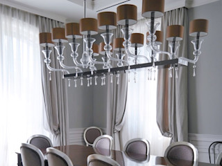 Luxurious Spaces with Multiforme Lighting MULTIFORME® lighting Salle multimédia classique